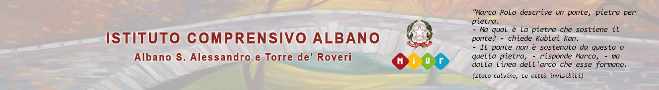 ISTITUTO COMPRENSIVO ALBANO